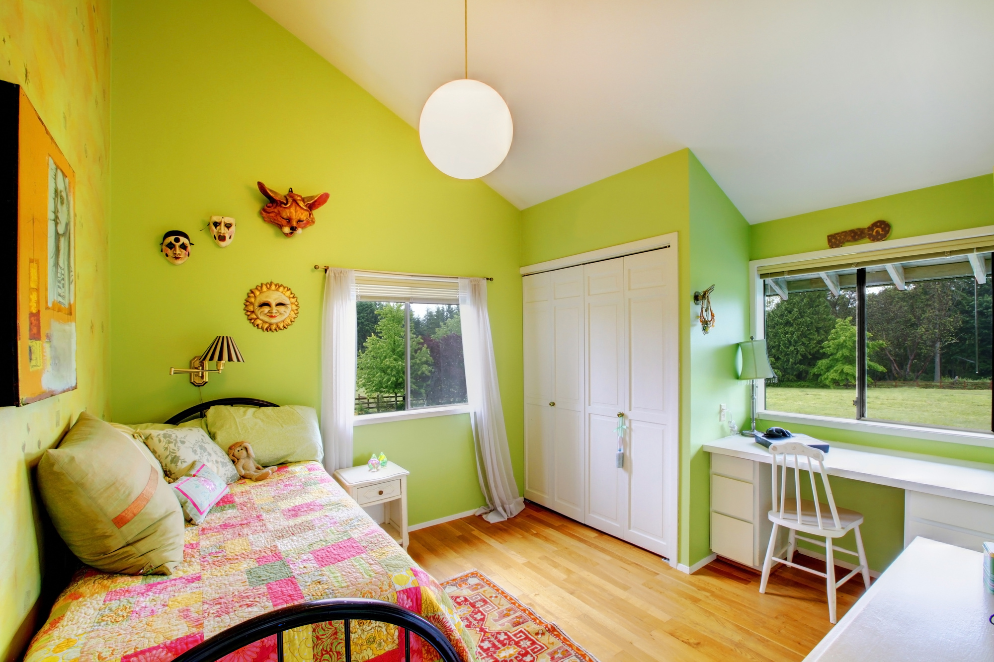 5 Trendy Kidsu0027 Room Paint Colors: How To Paint A Bedroom That Your Child  Will Love
